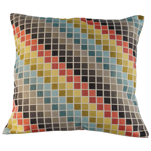 Urban Loft Tetris Square Cushion (651865) - Multicolour