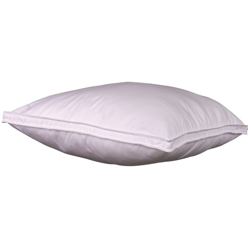 Sleep Solutions Hutterite White Goose Down & Goose Feather Triple-Chamber Queen Pillow (411236)