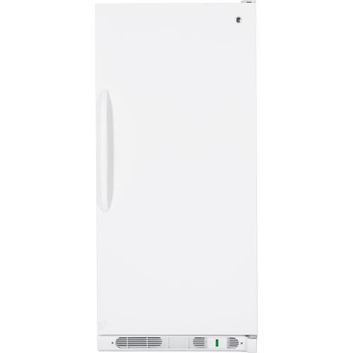 "GE 32"" 20.6 Cu. Ft. Upright Freezer (FUM21SVRWW) - White"