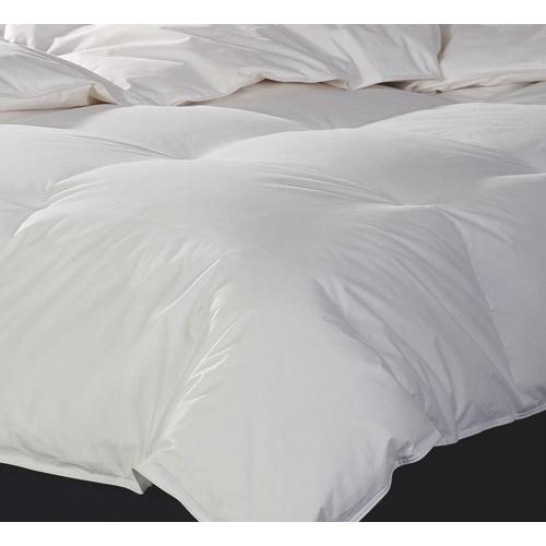 Douillette en duvet d'oie de contexture 240 de Sleep Solutions - Grand lit - Blanc