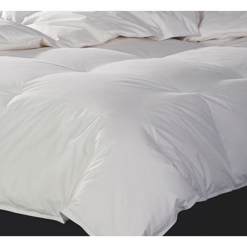 Douillette en duvet d'oie de contexture 240 de Sleep Solutions - Très grand lit - Blanc