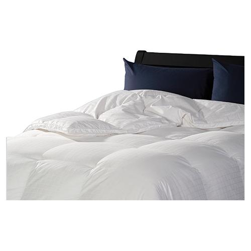 Sleep Solutions 400 Thread Count Hutterite Goose Down 4 Seasons Duvet - Queen - White