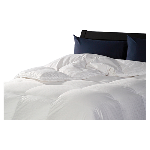 Sleep Solutions 400 Thread Count Hutterite Goose Down Winter Duvet - Queen - White