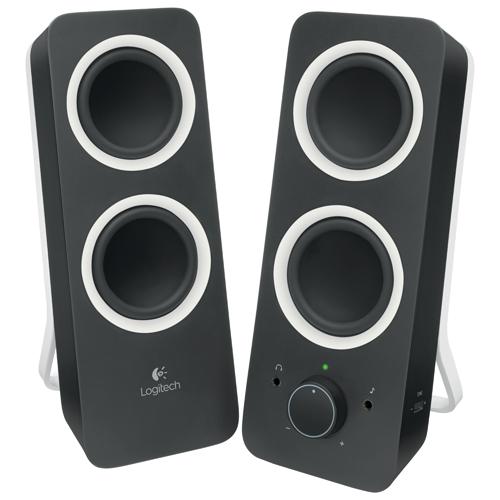 speakers in best buy. logitech z200 2.0 channel computer speaker system (980-000800) - black speakers in best buy i