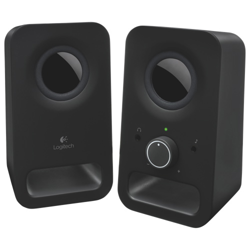 Logitech Z150 2.0 Channel Computer Speaker System - Black