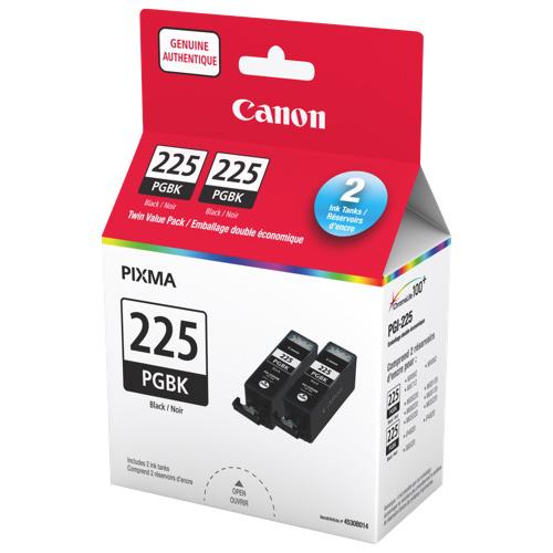 Canon PGI-225 Black Ink - 2 Pack