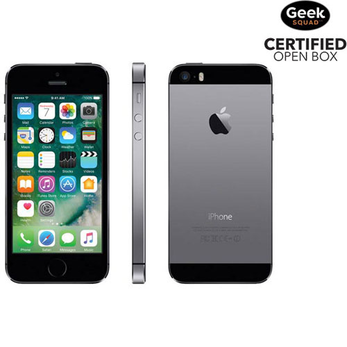 Apple iPhone 5s 16GB Smartphone - Space Grey - Carrier SIM Locked - Open Box