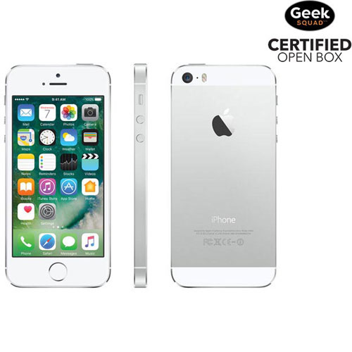 Apple iPhone 5s 16GB Smartphone - Silver - Carrier SIM Locked - Open Box
