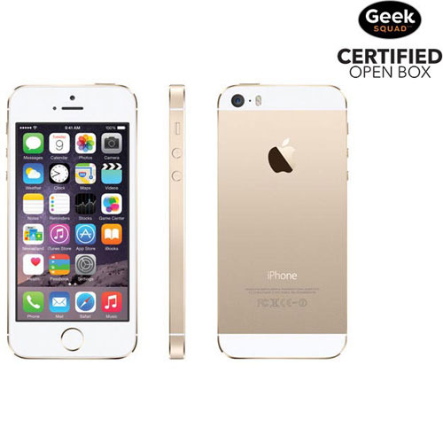 Apple iPhone 5s 16GB Smartphone - Gold - Carrier SIM Locked - Open Box