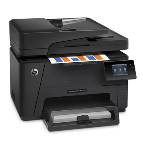 Hp Laserjet Pro Wireless Colour All In One Laser Printer With Fax M177fw Laser Printers