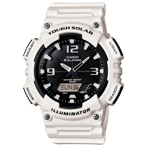 CASIO Illuminator 22mm Men's Digital Sport Watch - White