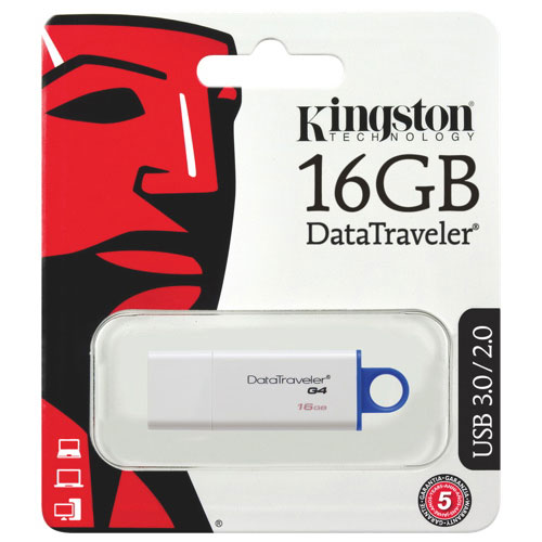 Kingston DataTraveler Generation 4 16GB USB Flash Drive