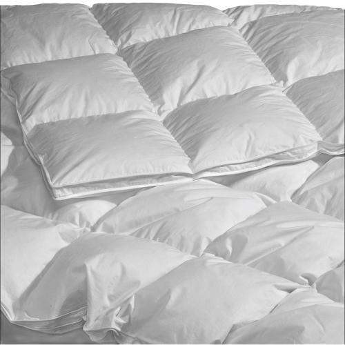 Douillette en duvet de contexture 260 La Rochelle de Highland Feather - Grand lit - Blanc