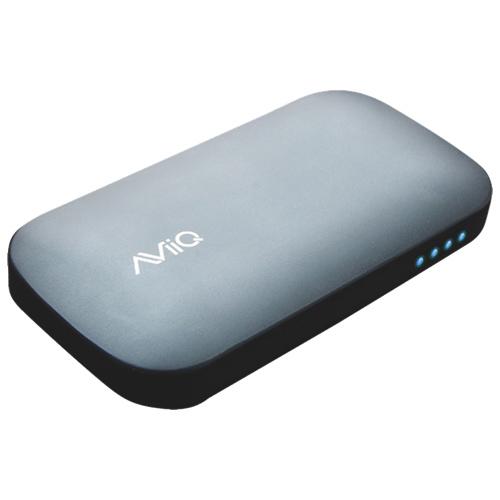 Chargeur USB portatif à 2 ports de 4600 mAh d'AViiQ (AV-PBPI-46GY)