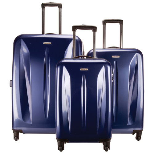 Samsonite Tech Series 3-Piece Hard Side Expandable Luggage Set ...