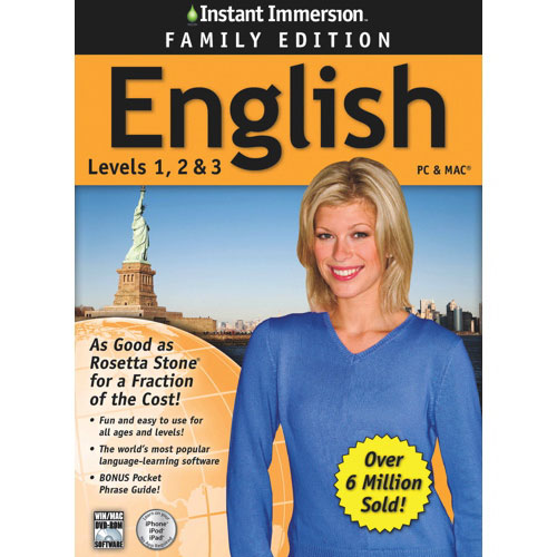 English Family Edition d'Instant Immersion (PC/Mac) - Bilingue