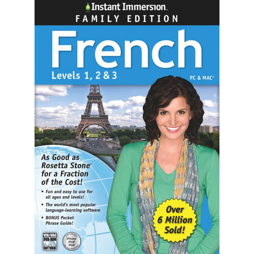 Instant Immersion French Family (PC/Mac) - Bilingual