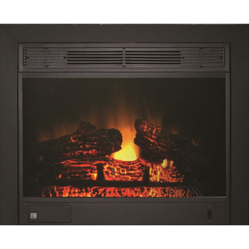 Paramount Electric Fireplace (EF-123-3BK) - Black : Indoor ...