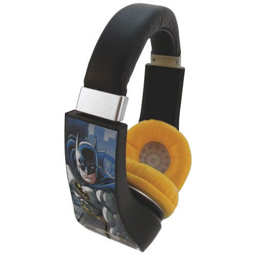 Sakar Batman Kid-Safe Over-Ear Headphones