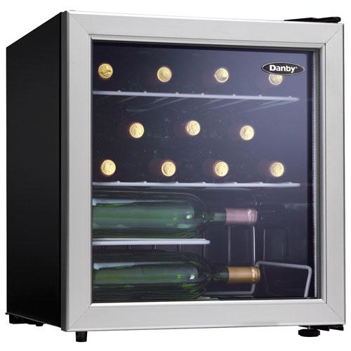 Danby 1 8 Cu Ft 17 Bottle Freestanding Wine Cooler