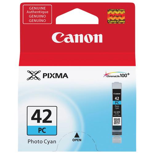 Cartouche d'encre photo cyan de Canon (CLI-42 PC)