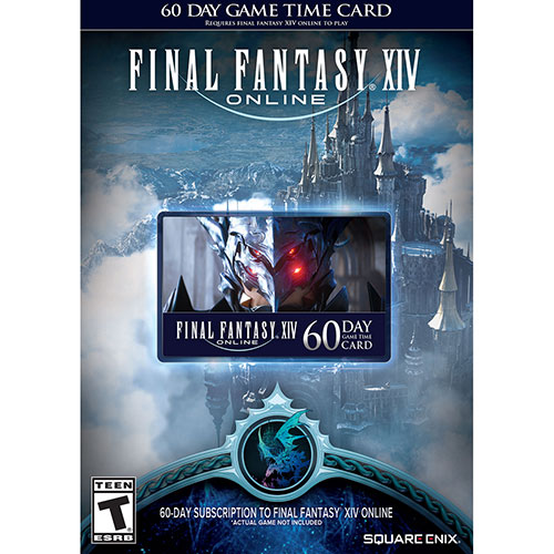 Final Fantasy XIV: A Realm Reborn 60-Day Time Card (PS3/PS4)