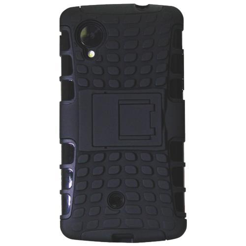 Étui Armour d'Exian pour Nexus 5 (NEX5008) - Noir