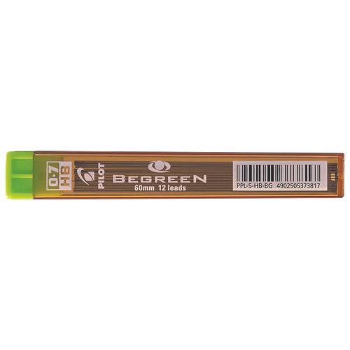 Pilot .70mm Mechanical Pencil Lead Refill (PILBGPPL7HB) - 12-Pack