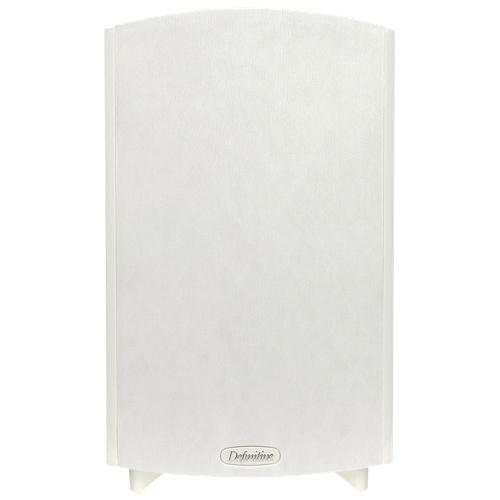Definitive Technology ProMonitor 1000 200-Watt Bookshelf Speaker - Gloss White - Single