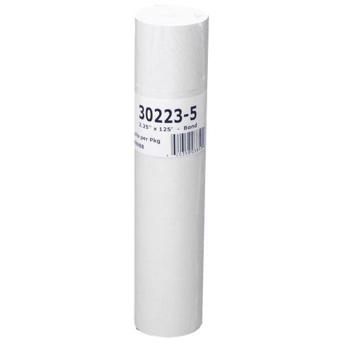 Rouleaux de papier bond pour calculatrice de NCR (NCR9074-0309) - Paquet de 5 - Blanc