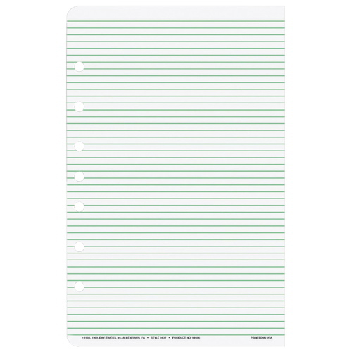Day Timer Multipurpose Hole-Punch Ruled Organizer Refill Paper (DTM68374)