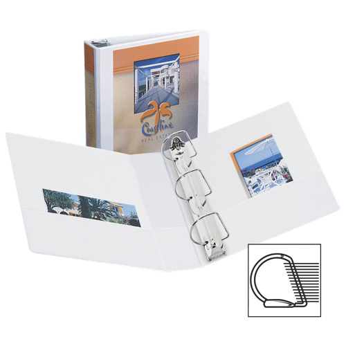 """Avery 2"""" Durable Slant D-Ring View Binder (AVE17032) - White"""