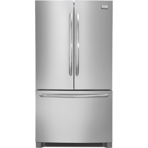 """Frigidaire 36"""" Gallery 22.6 Cu. Ft. French Door Refrigerator (FGHG2366PF) - Stainless Steel"""