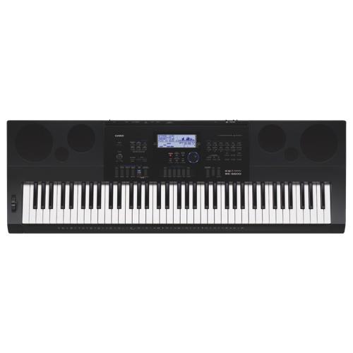 Casio 76-Key Electric Keyboard (WK-6600) - Black