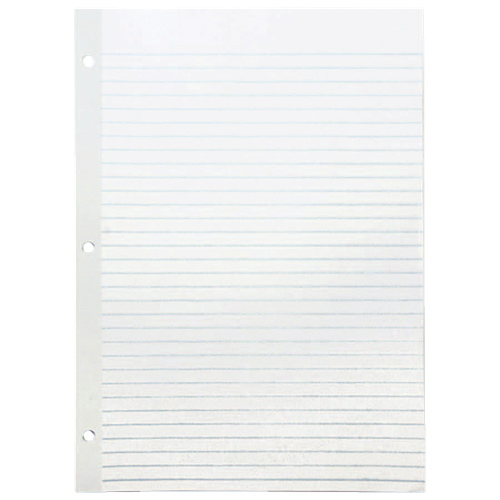 "Sparco 100-Sheet 8.5"" x 11"" Wide Ruled Paper (SPRWB213R)"