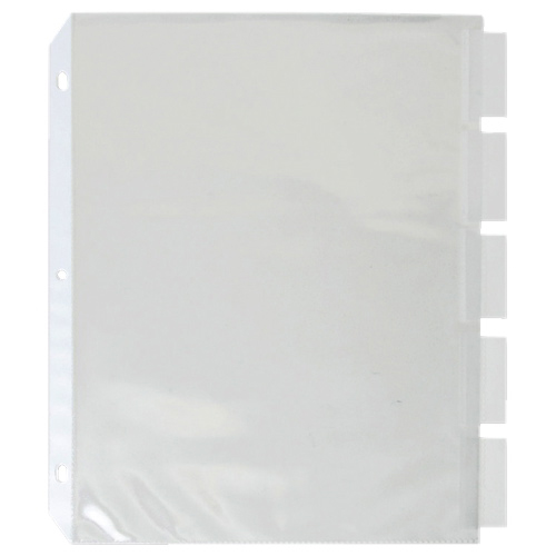 Sparco Top Load Letter Size Sheet Protector (SPR74160) - 5 Pack