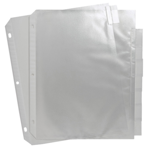 Sparco Top Load Letter Size Sheet Protector (SPR74161) - 8 Pack