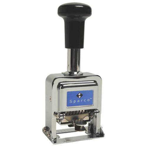 Sparco 7-Wheel Numbering Machine (SPR80077)