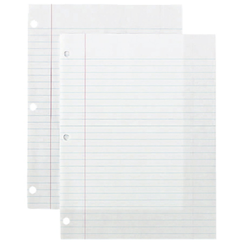 """Sparco 150-Sheet 8"""" x 10.5"""" Lined Paper (SPR82121)"""