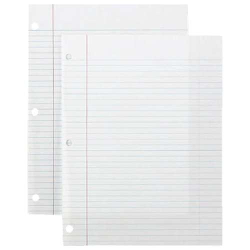"Sparco 150-Sheet 8"" x 10.5"" College Ruled Paper (SPR82123)"