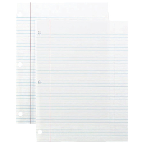 """Sparco 200-Sheet 8"""" x 10.5"""" College Ruled Paper (SPR82124)"""