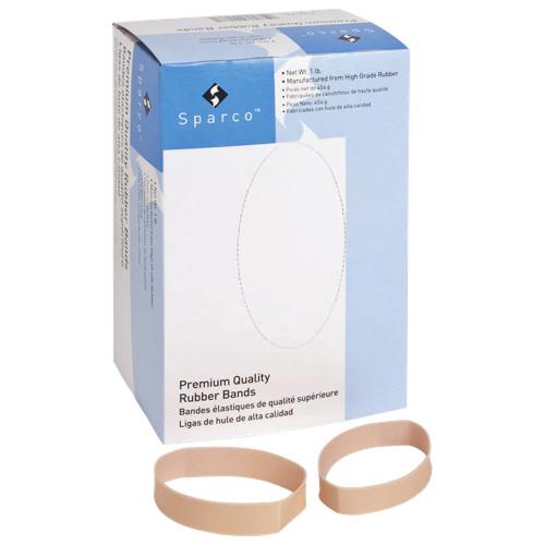 Bandes élastiques 0,5 x 3,5 pouces de Sparco (SPR84-1LB) - Paquet de 210
