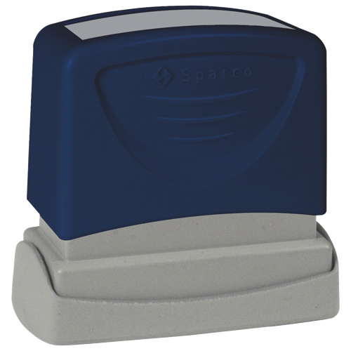 Sparco Red-Ink FAXED Stamp (SPR60025)