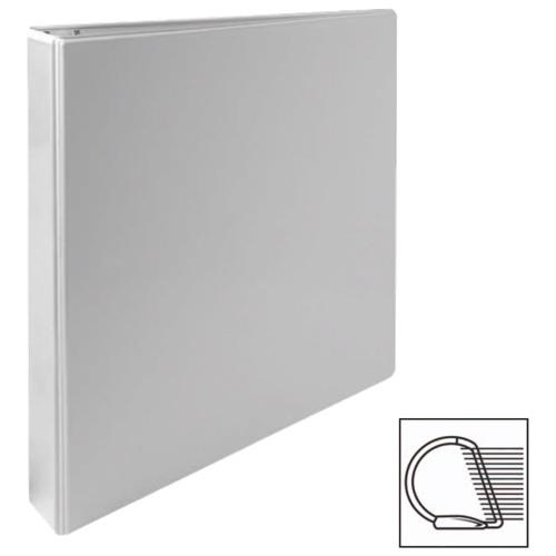 Reliure à anneaux en D incliné de 1 po de Sparco (SPR62463) - Blanc