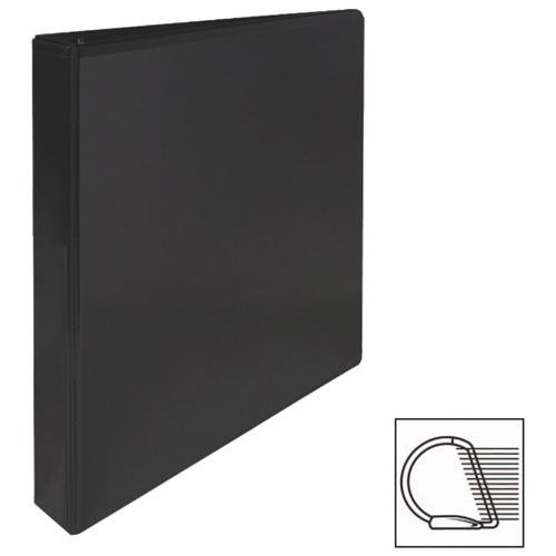 """Sparco 1"""" Slanted D-Ring Binder (SPR62464) - Black"""