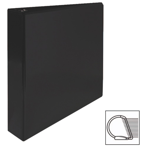 "Sparco 1.5"" Slanted D-Ring Binder (SPR62466) - Black"