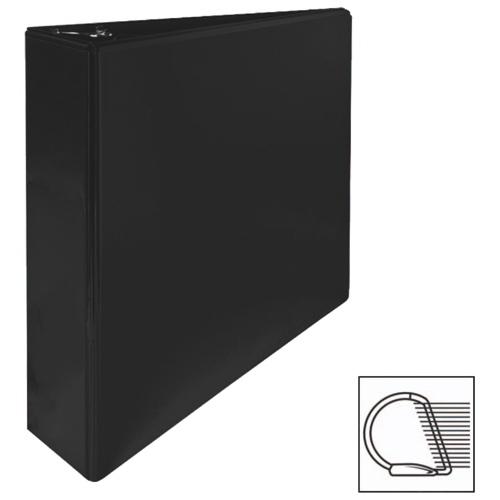 """Sparco 2"""" Slanted D-Ring Binder (SPR62468) - Black"""