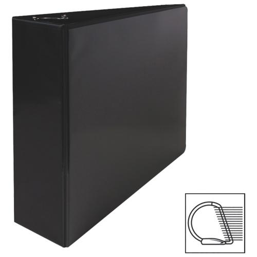 Reliure à anneaux en D incliné de 3 po de Sparco (SPR62470) - Noir