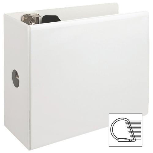"Sparco 5"" Slanted D-Ring Binder (SPR62473) - White"