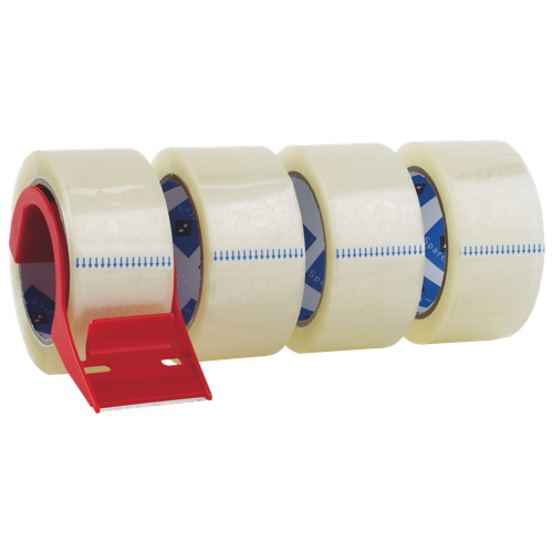 Sparco Heavy-Duty Packaging Tape With Dispenser (SPR64011) - 4 Pack